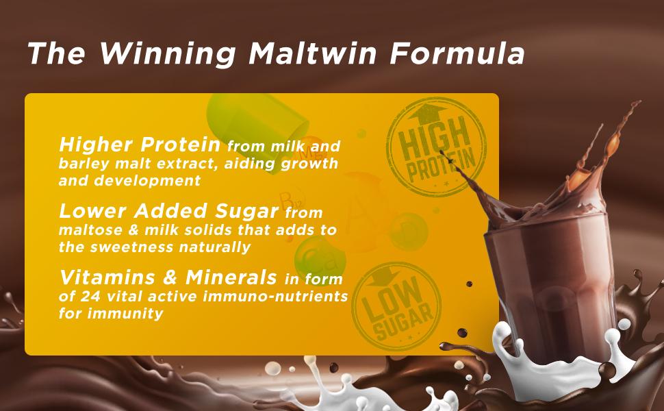 high protein drink